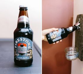 diy beer bottle opener how to mason jars outdoor living repurposing upcycling