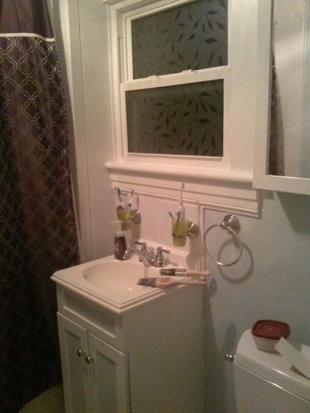 small bathroom small budget makeover, bathroom ideas, small bathroom ideas