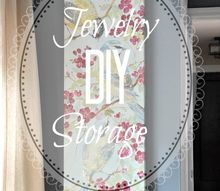 diy hidden jewelry storage, organizing, repurposing upcycling, storage ideas