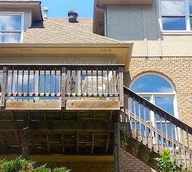 How To Repair Your Deck Railing And Stairs, Decks, Diy, Home Maintenance  Repairs