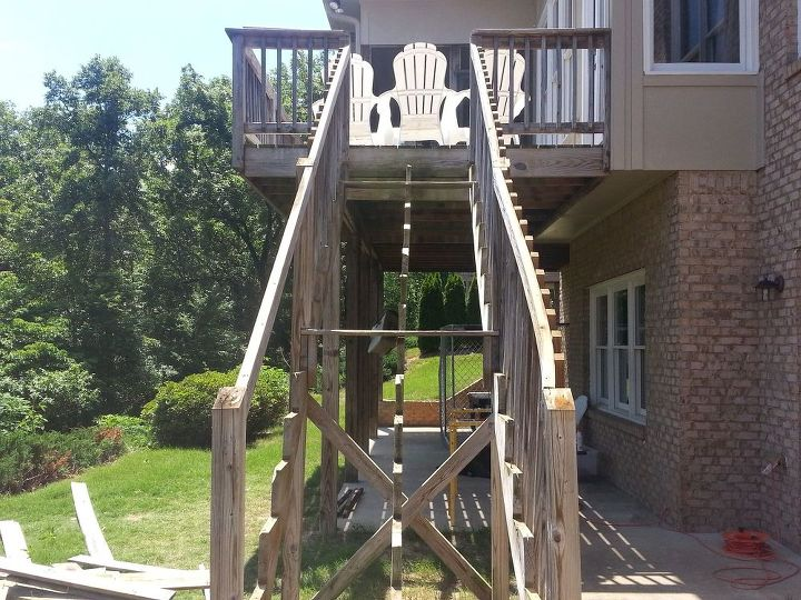 how to repair your deck railing and stairs, decks, diy, home maintenance repairs, how to, outdoor living, stairs, woodworking projects