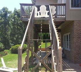Charmant How To Repair Your Deck Railing And Stairs Hometalk