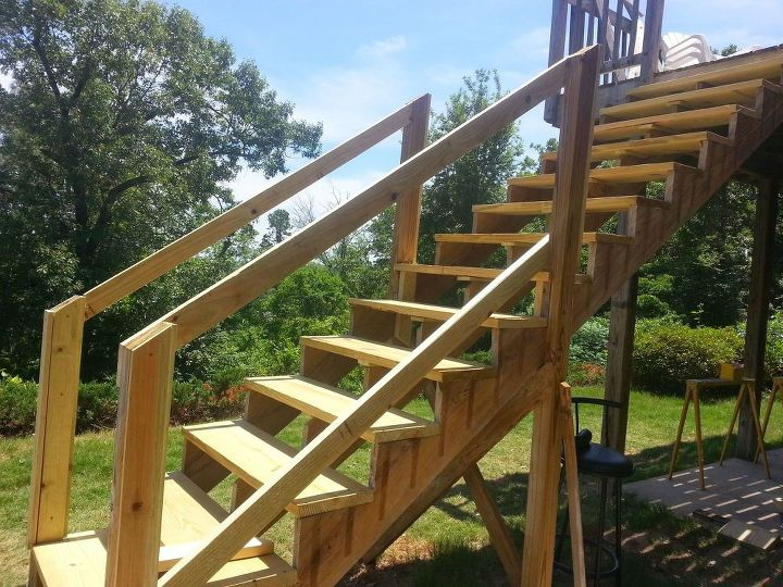 How to Repair Your Deck Railing and Stairs | Hometalk