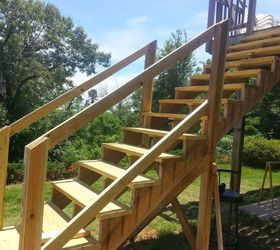 Gentil How To Repair Your Deck Railing And Stairs, Decks, Diy, Home Maintenance  Repairs