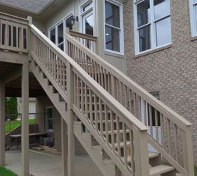 How To Repair Your Deck Railing And Stairs, Decks, Diy, Home Maintenance  Repairs