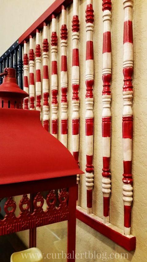 american flag crib rails, chalk paint, gardening, outdoor living, painted furniture, painting, patriotic decor ideas, repurposing upcycling, seasonal holiday decor