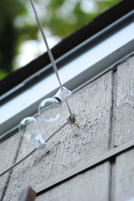 How To Hang Outdoor String Lights For A Magical Glow