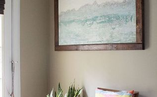 diy abstract wall art, crafts, how to, wall decor