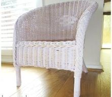how to paint a wicker chair with chalk paint, chalk paint, how to, painted furniture