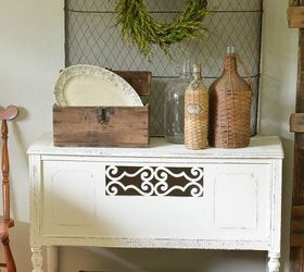 Decorating With Yard Sale And Thrift Store Finds, Home Decor, Painted  Furniture, Repurposing