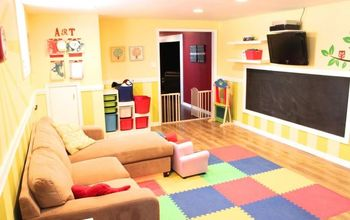 Playroom Makeover {Before & After}