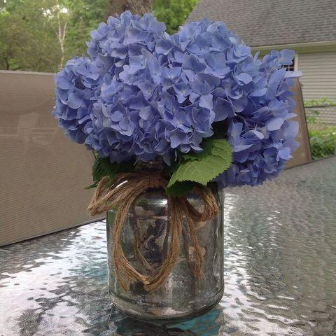 Upcycled Pickle Jar To Flower Vase Hometalk