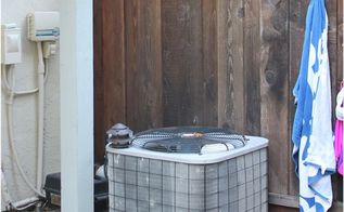 how to hide your a c with a diy wood screen, how to, hvac, outdoor living, woodworking projects