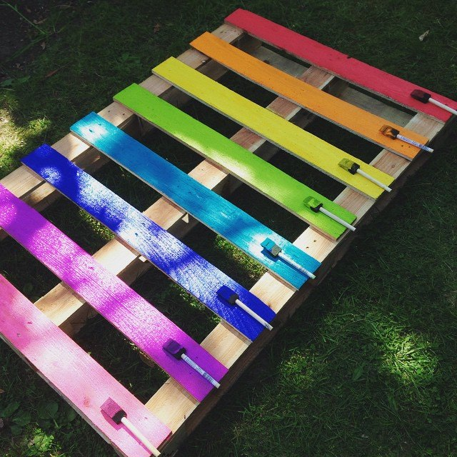 Paint your pallet with your favorite colors