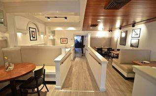 nautical restaurant redesign, bathroom ideas, dining room ideas, home decor, lighting
