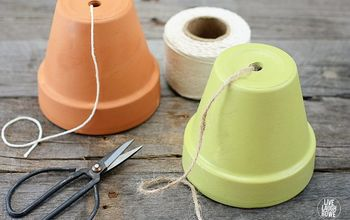http livelaughrowe com terra cotta pot twine dispenser, craft rooms, crafts, how to, organizing, repurposing upcycling