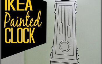 IKEA Painted Clock