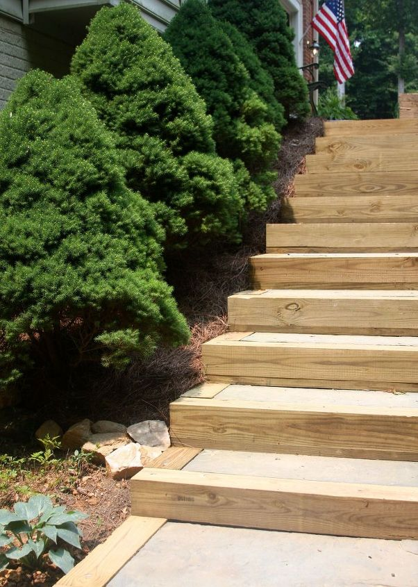 diy outdoor staircase, decks, outdoor living, patio, stairs