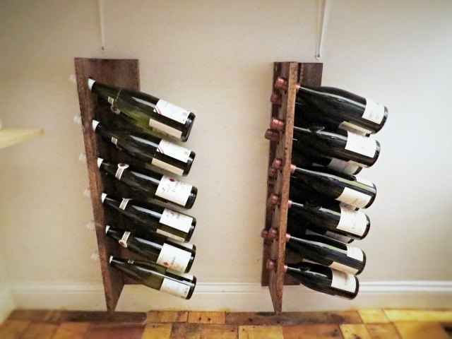 quick easy inexpensive diy wine racks hometalk
