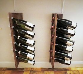 Quick Easy Inexpensive Diy Wine Racks, Dining Room Ideas, Diy, Storage  Ideas,