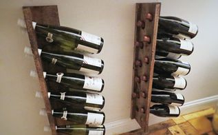 quick easy inexpensive diy wine racks, dining room ideas, diy, storage ideas, woodworking projects