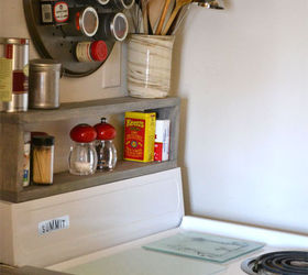 Small Kitchen Shelving Ideas Part - 29: Extra Storage In A Small Kitchen Diy Shelf Above The Stove, Diy, Kitchen  Design