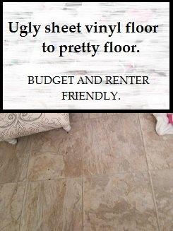 Bathroom Floor Update For Budget And Renter Friendly Hometalk - Budget bathroom flooring
