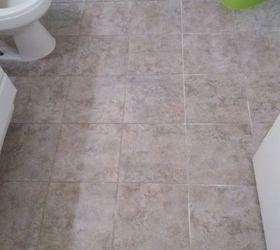 Bathroom Floor Update For 30 Budget And Renter Friendly, Bathroom Ideas,  Flooring, Tile