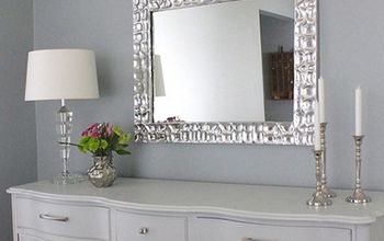 Knock-off Metallic Mirror Frame