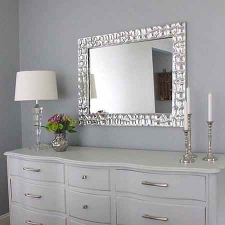 Diy Knock Off Metallic Mirror Frame Hometalk