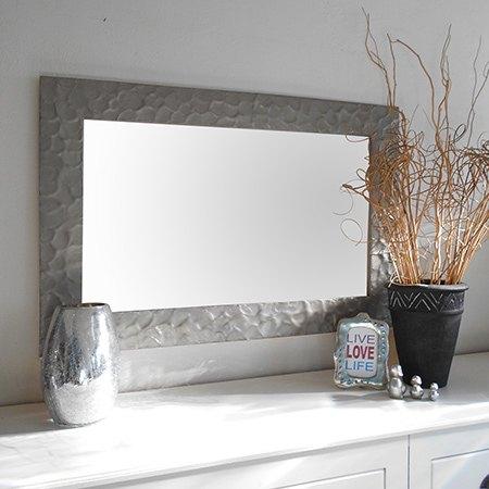 diy knock off metallic mirror frame crafts home decor how to wall - Diy Mirror Frame