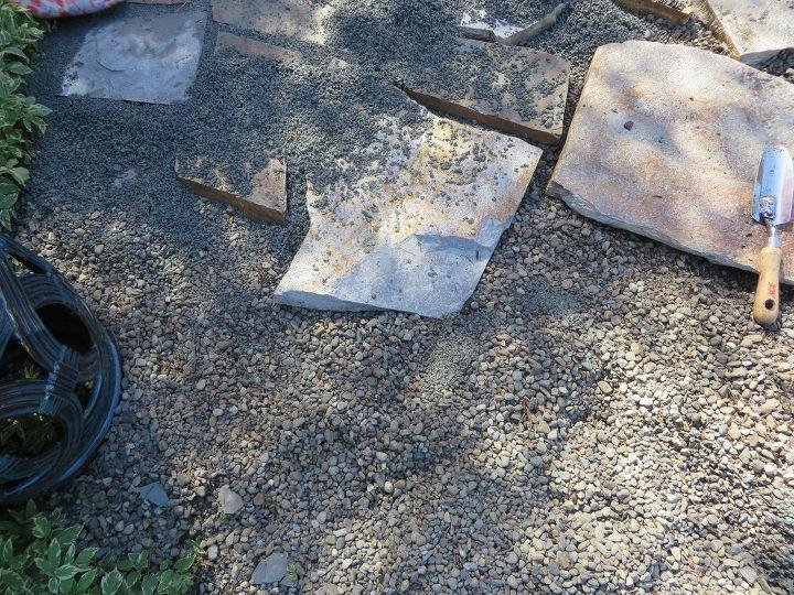 diy front walk, concrete masonry, curb appeal, diy, gardening