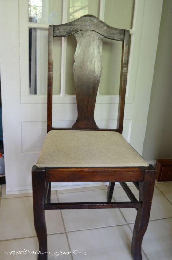 Chalk Paint Grandma S Antique Dining Table And Chairs
