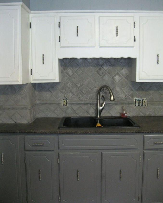 Dramatic Concrete Kitchen Update