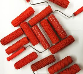 How To Use Decorative Rollers, How To, Painted Furniture, Painting, Tools,