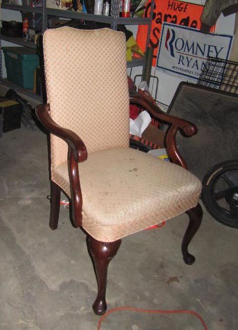 reupholstered chairs hometalk