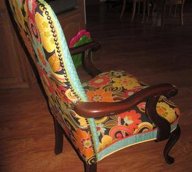 Charmant Reupholstered Chairs, Painted Furniture, Repurposing Upcycling, Reupholster