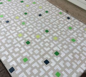 Nice Diy Floor Stencil, Curb Appeal, Flooring, How To, Painting