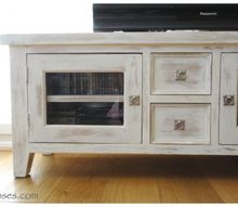 makeover of a tv unit with chalk paint, chalk paint, painted furniture