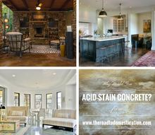 acid staining concrete step by step, concrete masonry, flooring