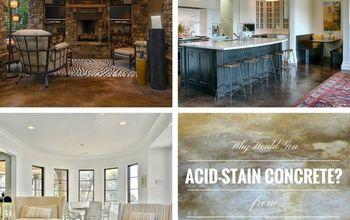 acid staining concrete step by step, concrete masonry, flooring