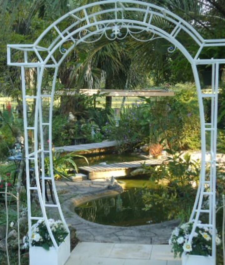 hide aways for fish but useful for us, outdoor living, pets animals, ponds water features