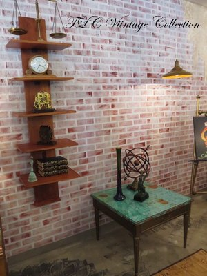 Vintage Faux Brick Painted Wall Decor | Hometalk