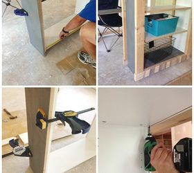 Ikea Billy Bookcase Hack To Outdoor Bar Table, How To, Outdoor Living,  Painted