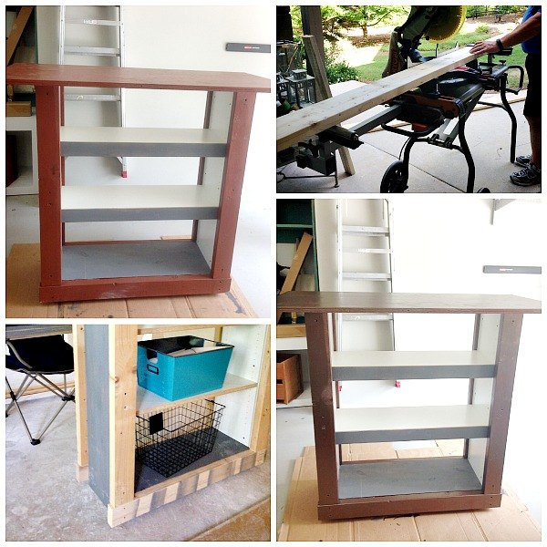 IKEA Billy Bookcase Hack To Outdoor Bar Table