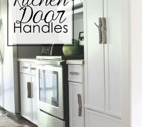 Lovely Rustic Kitchen Door Handles, Kitchen Cabinets, Kitchen Design, Repurposing  Upcycling