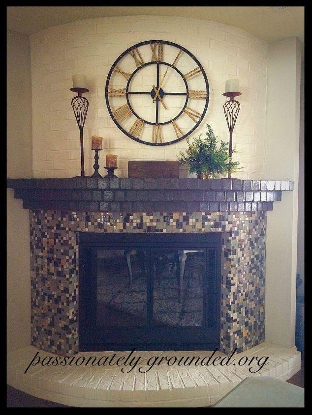 Clocks Over Fireplace Mantel Fireplaces