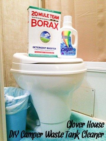 diy camper waste tank cleaner, bathroom ideas, cleaning tips