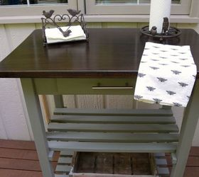 Grill Cart Makeover, Chalk Paint, Outdoor Furniture, Painted Furniture