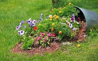 diy ideas to use broken pots in garden, flowers, gardening, landscape, repurposing upcycling, succulents